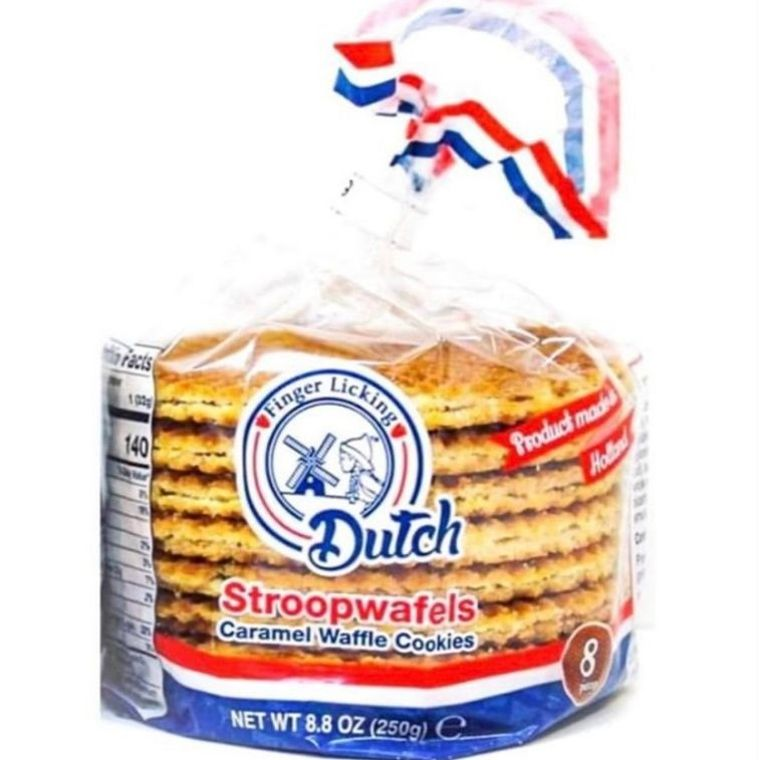 Finger Licking Dutch Caramel Stroopwafels