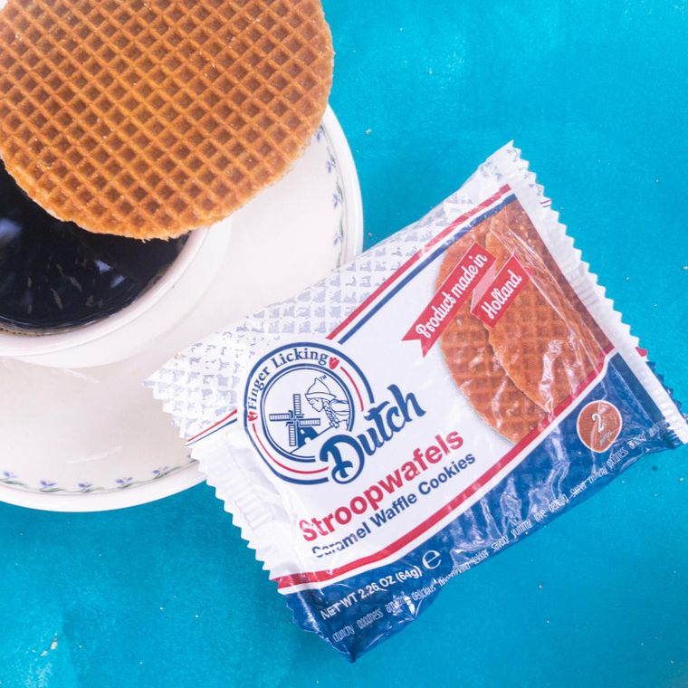 Finger Licking Dutch Caramel Stroopwafels