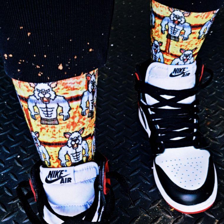 Audacious Sock Wear