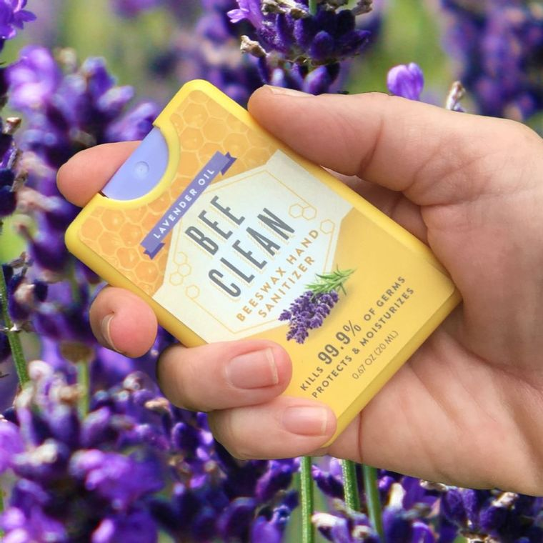 Bee Clean Beeswax Hand Sanitizer