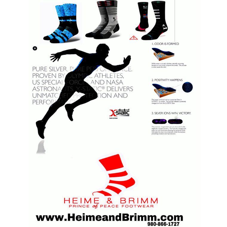Heime & Brimm Prince of Peace Sock Wear