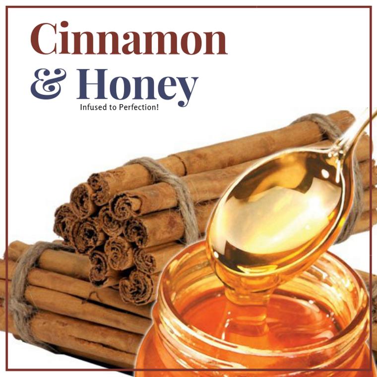 1 LB Cinnamon Infused Honey