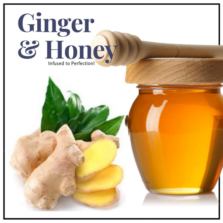 1 LB Ginger Infused Honey