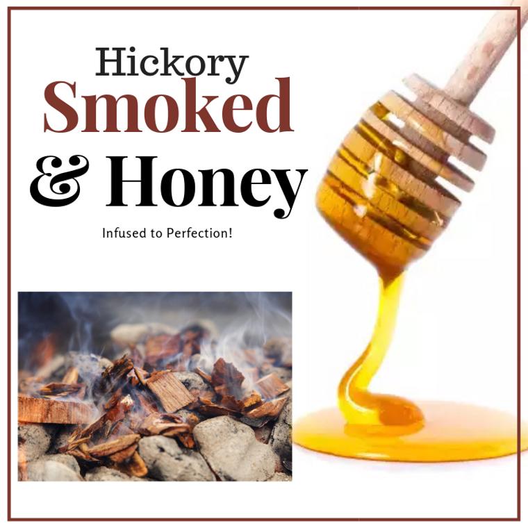 1 LB Hickory Smoked Honey