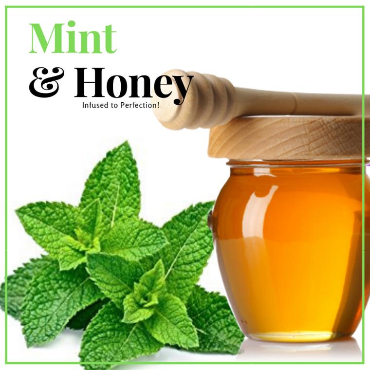 1 LB Mint Infused Honey