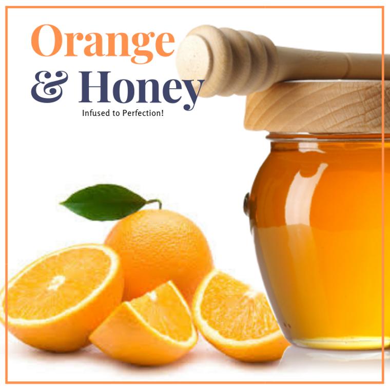 1 LB Orange Infused Honey