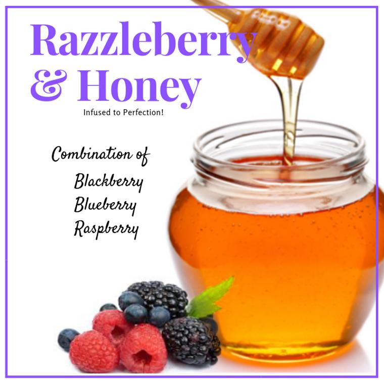1 LB RazzleBerry Infused Honey