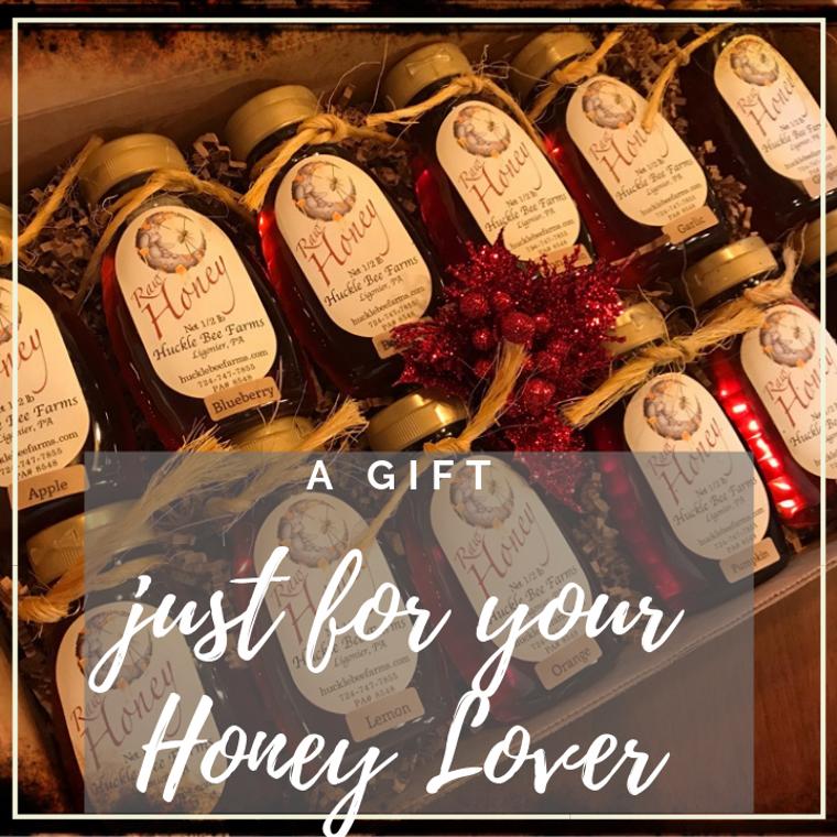 The Honey Lover Sampler Gift Set