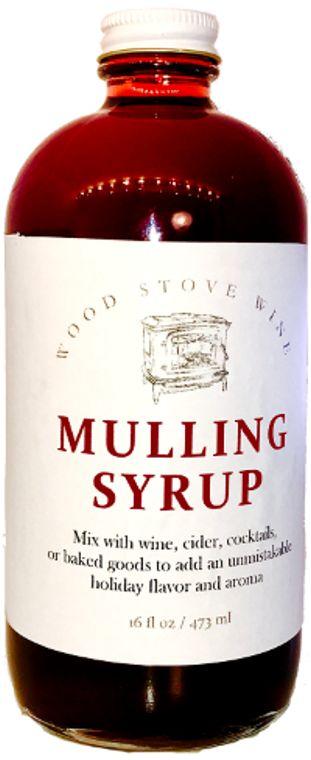 Wood Stove Mulling Syrup