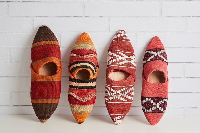 Moroccan Kilim Slippers