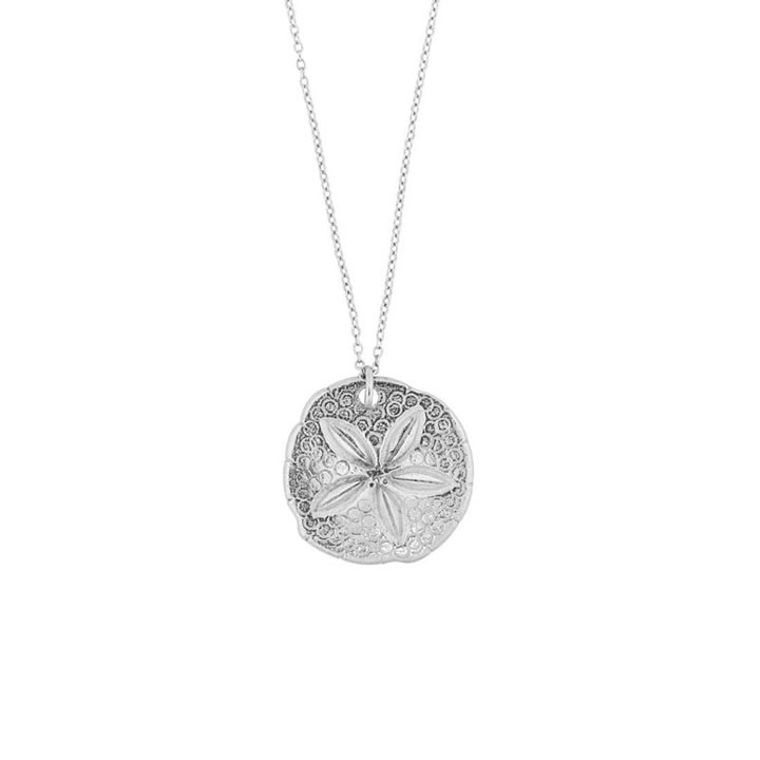 "Sand Dollar 17"" Mini Necklace"