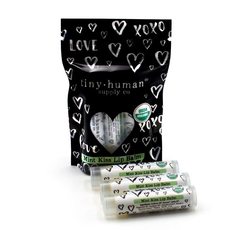 NEW! Organic Lip Balm - Mint Kiss
