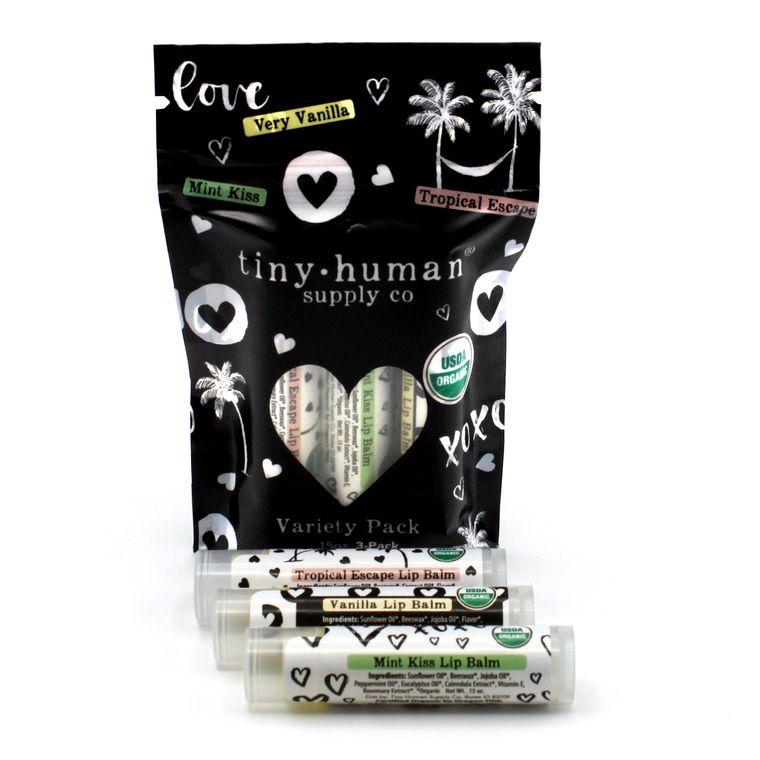 NEW! Organic Lip Balm - Variety Pack