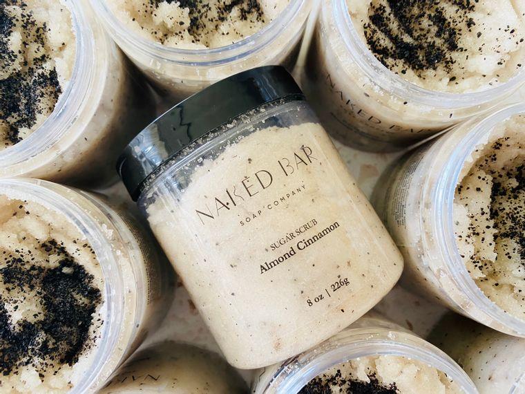 Almond Cinnamon Sugar Scrub