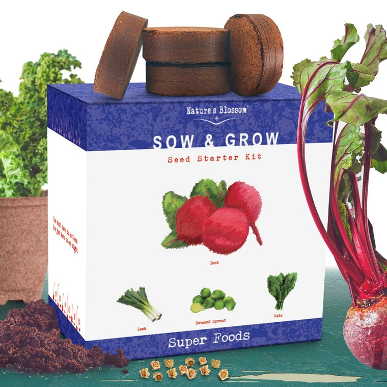 Nature's Blossom Superfoods Garden Kit