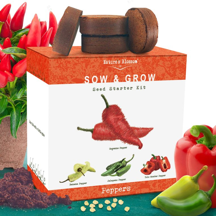 Nature's Blossom Pepper Starter Kit