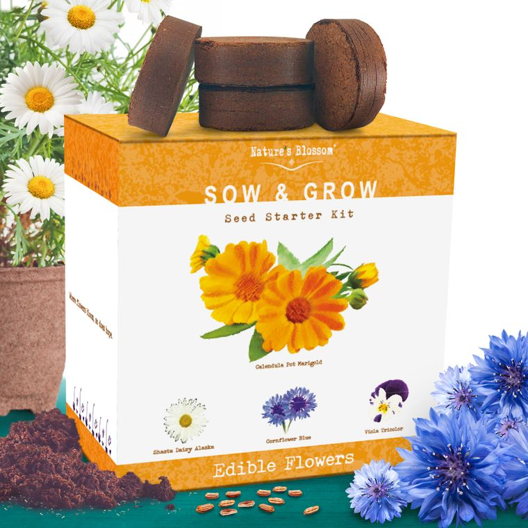 Nature's Blossom Edible Flower Kit
