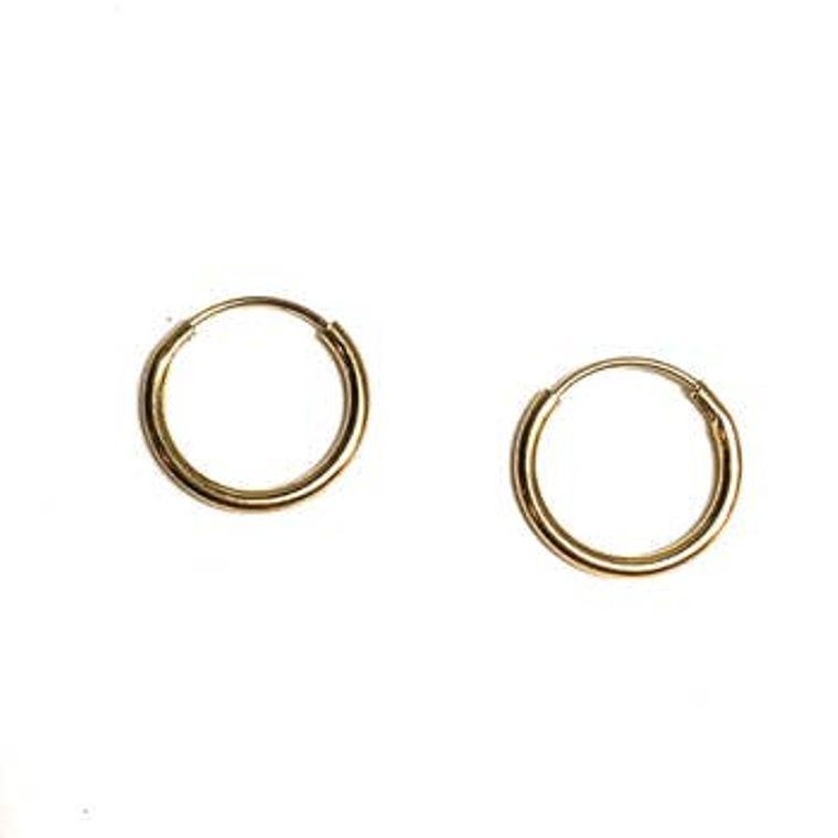 Mini Hoop Hugger Earrings-Gold Filled