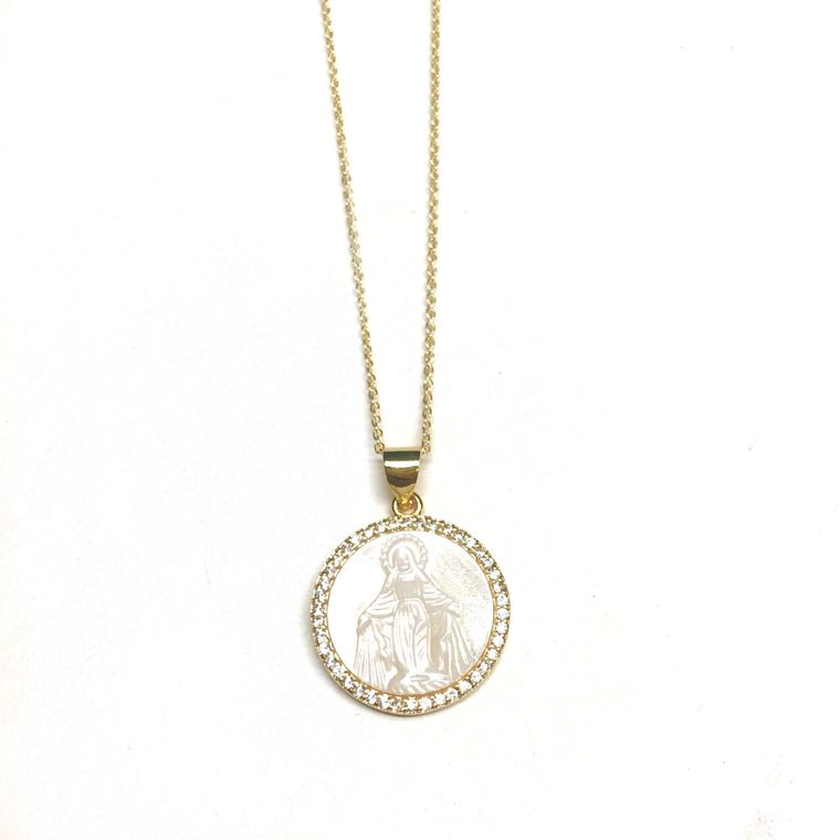 Mary Short Necklace - Gold
