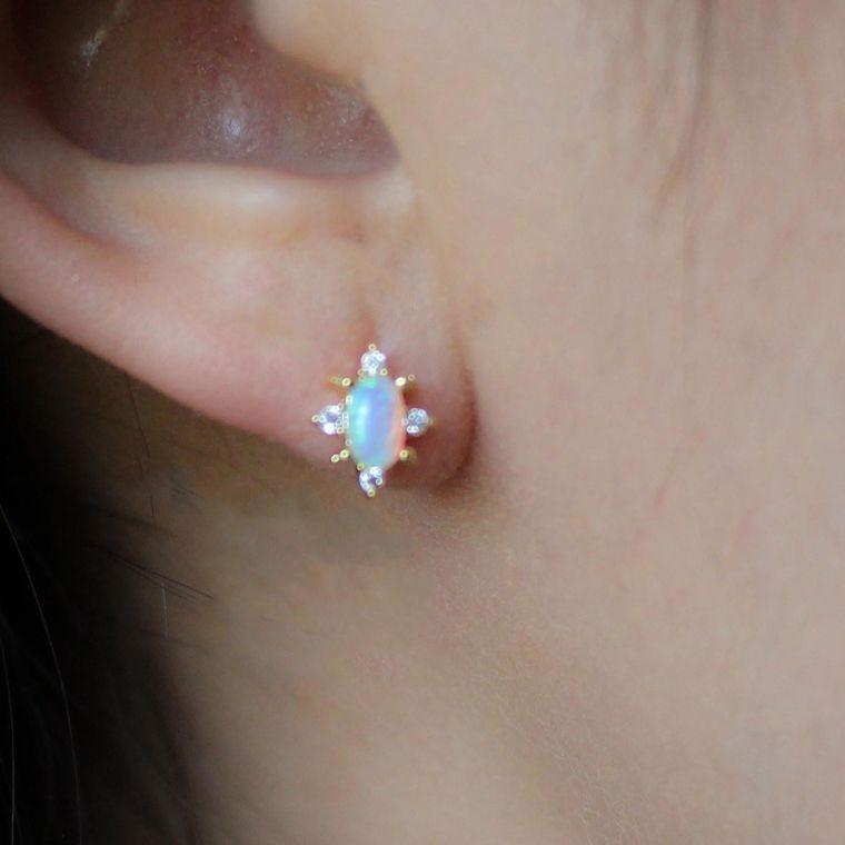 Starstruck Opal Studs