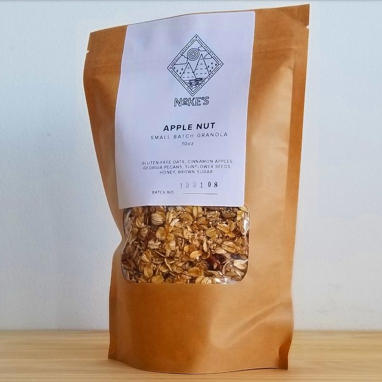 Apple Nut Granola