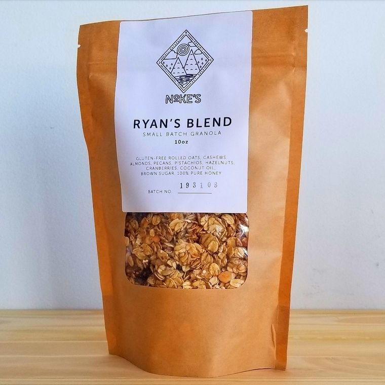 "Ryan's ""Honey and Oat"" Granola"