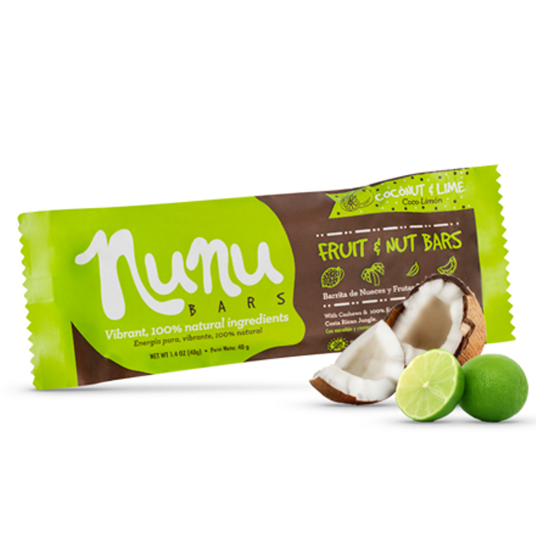 Nunu Bar Coconut & Lime