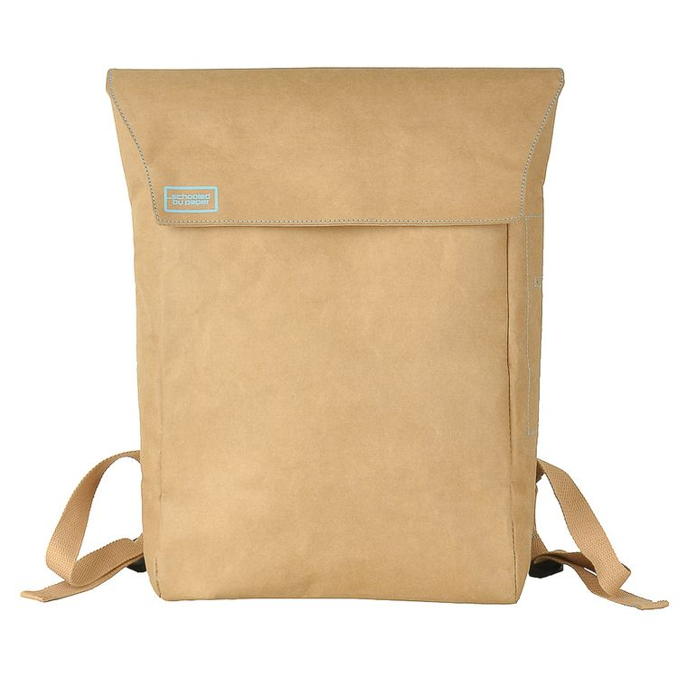 Flip-Top DrawBag® Backpack (Brown)