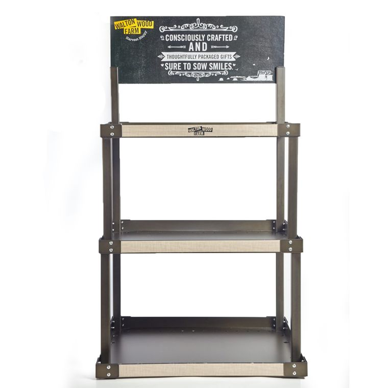 DISPLAY ONLY - 3 Tier Metal Display