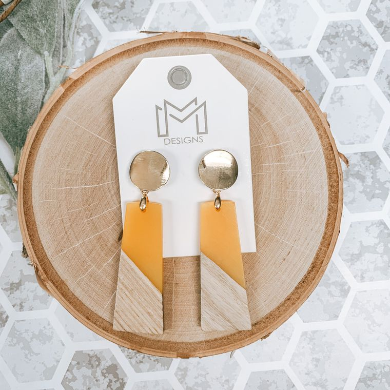 Stacy Earring-Mustard
