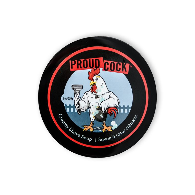 Proud Cock Creamy Shave Soap 8 oz