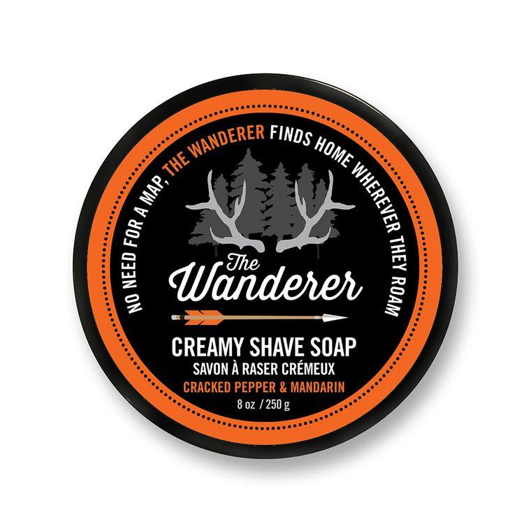 Shave Soap - Wanderer 8 oz