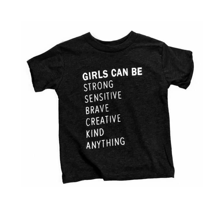 Girls Can Be Toddler Tee