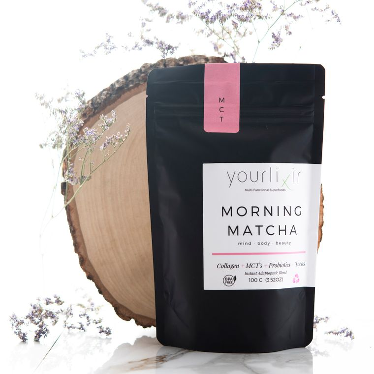 Collagen & Probiotic Matcha Latte Blend - 100 Grams