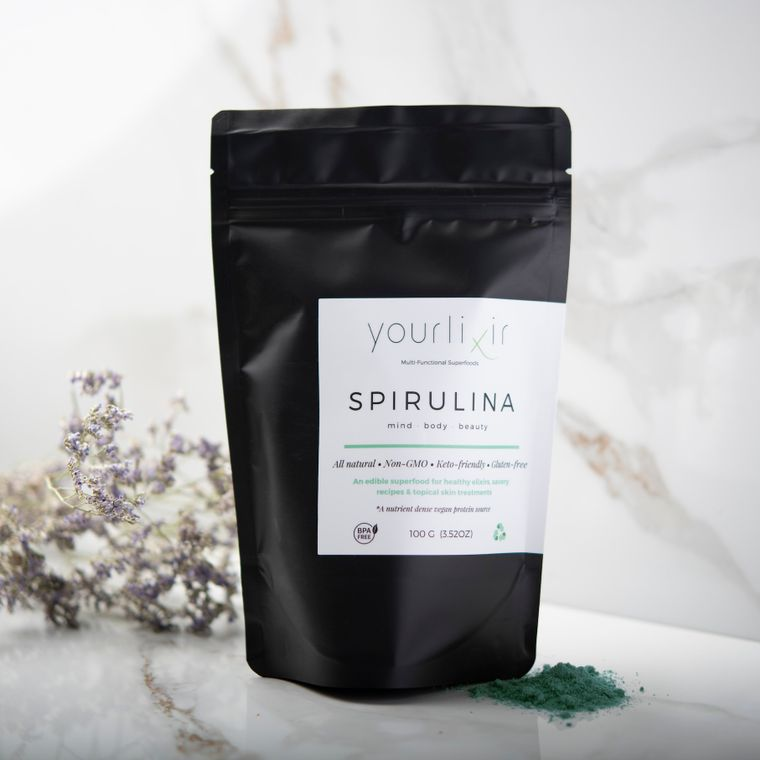 Organic Spirulina Beauty & Wellness Powder - 100 Grams