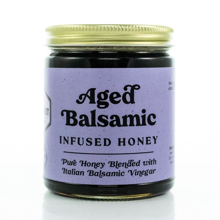 Bee in Your Bonnet Aged Balsamic Infused Honey