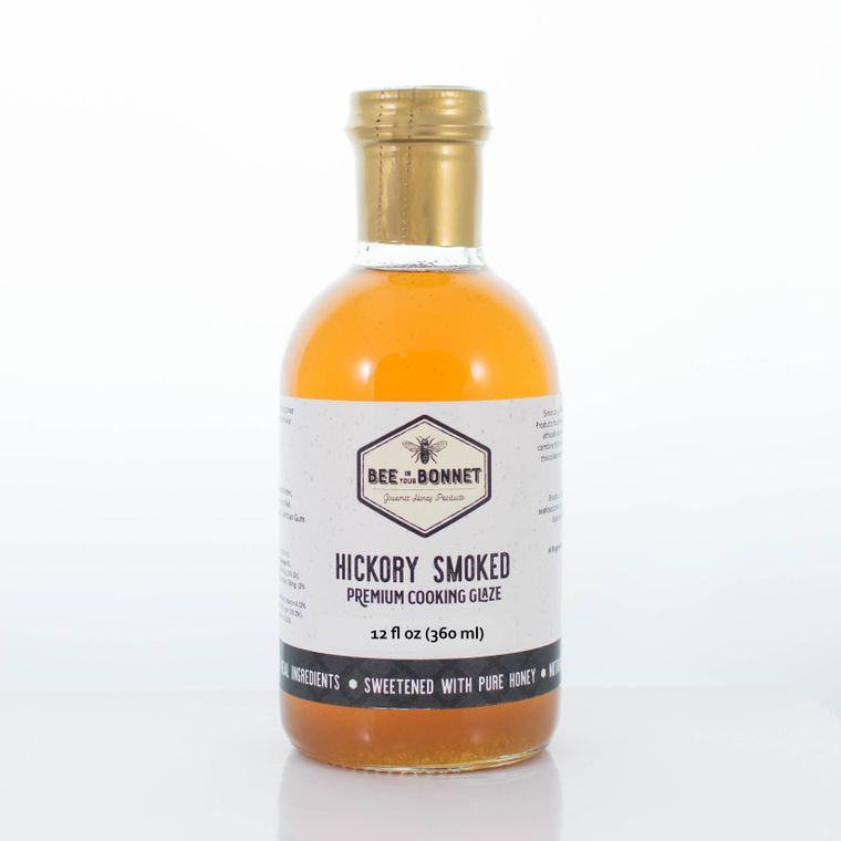 Bee in Your Bonnet Hickory Smoked Premium Cooking Glaze