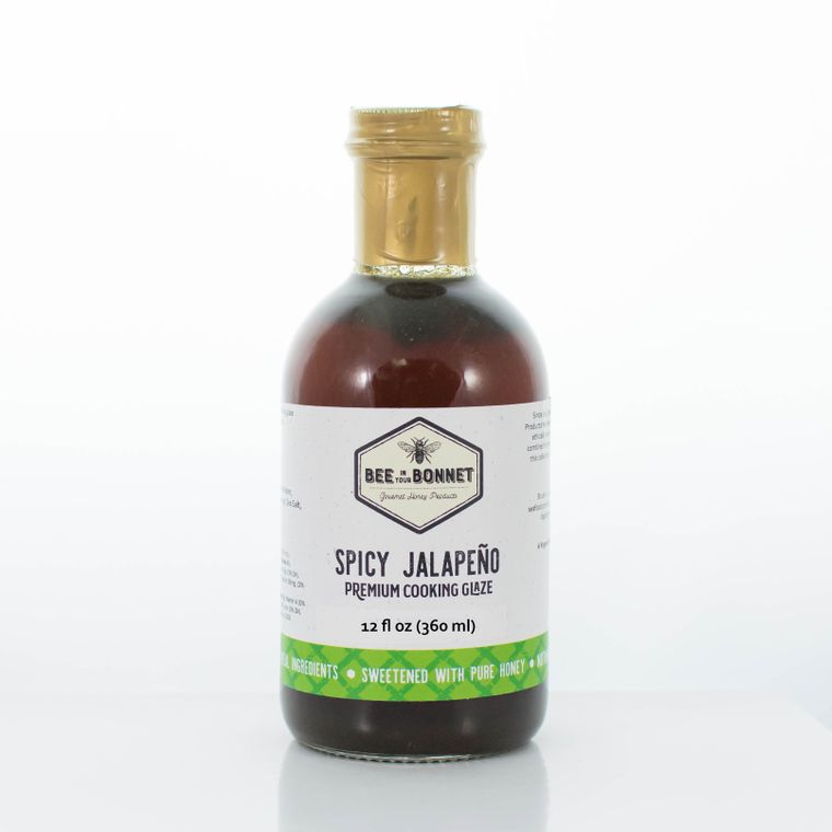 Bee in Your Bonnet Spicy Jalapeno Premium Cooking Glaze