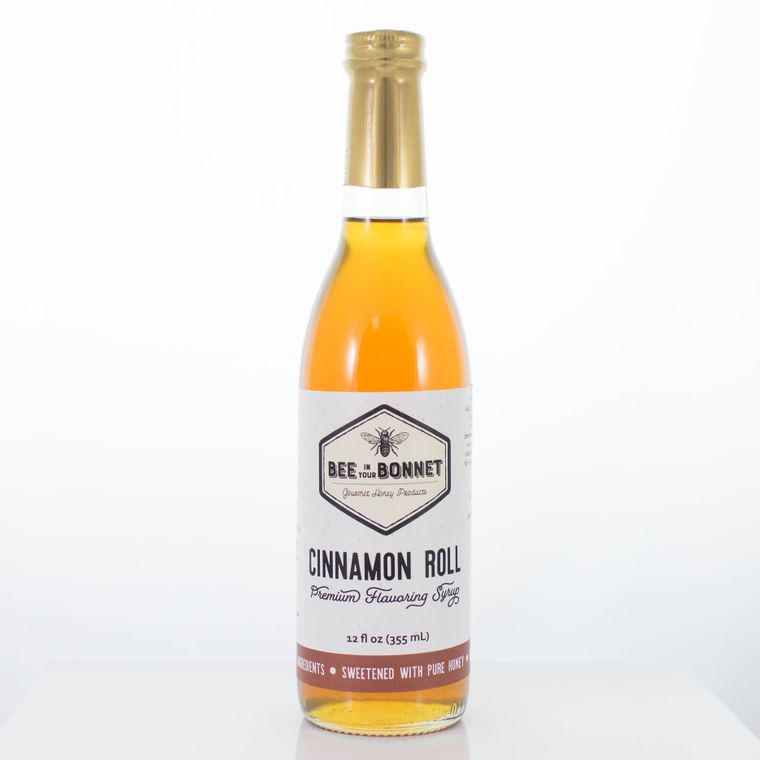 Bee in Your Bonnet Cinnamon Roll Premium Flavoring Syrup
