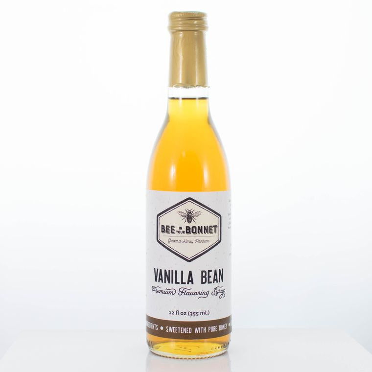 Bee in Your Bonnet Vanilla Bean Premium Flavoring Syrup