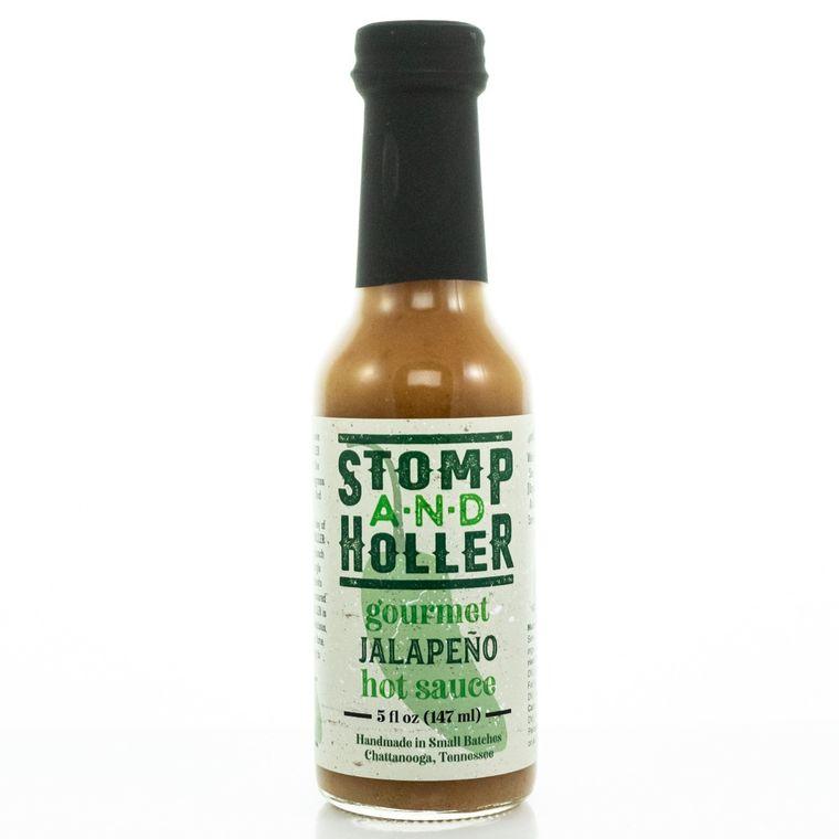 Stomp and Holler Gourmet Jalapeno Hot Sauce