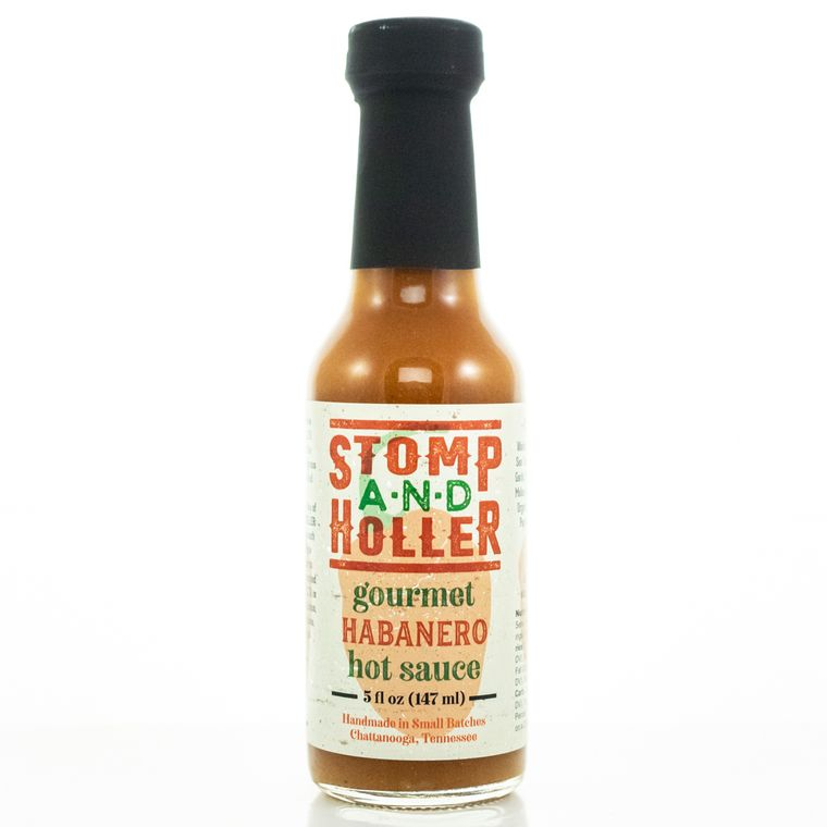 Stomp and Holler Gourmet Habanero Hot Sauce