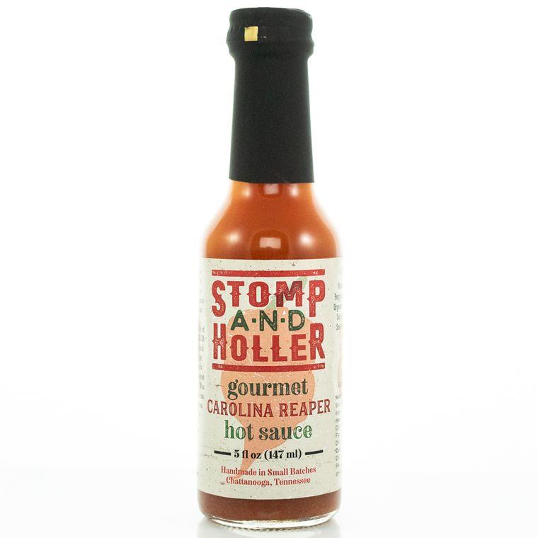 Stomp and Holler Gourmet Carolina Reaper Hot Sauce