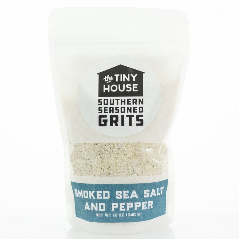 The Tiny House Sea Salt and Pepper Southern Seasoned Grits