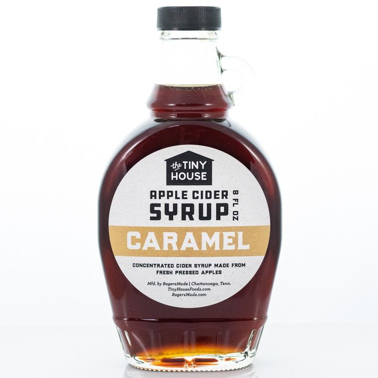 The Tiny House Caramel Apple Cider Syrup