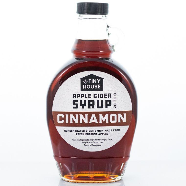 The Tiny House Cinnamon Apple Cider Syrup