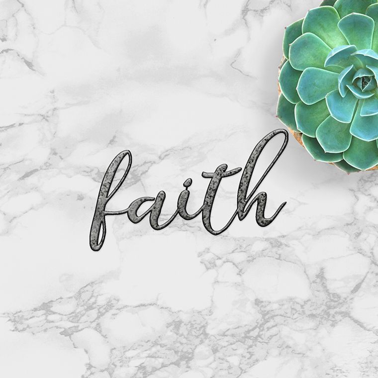 Faith - word