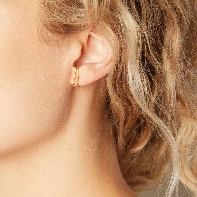 Double Cuff Earrings