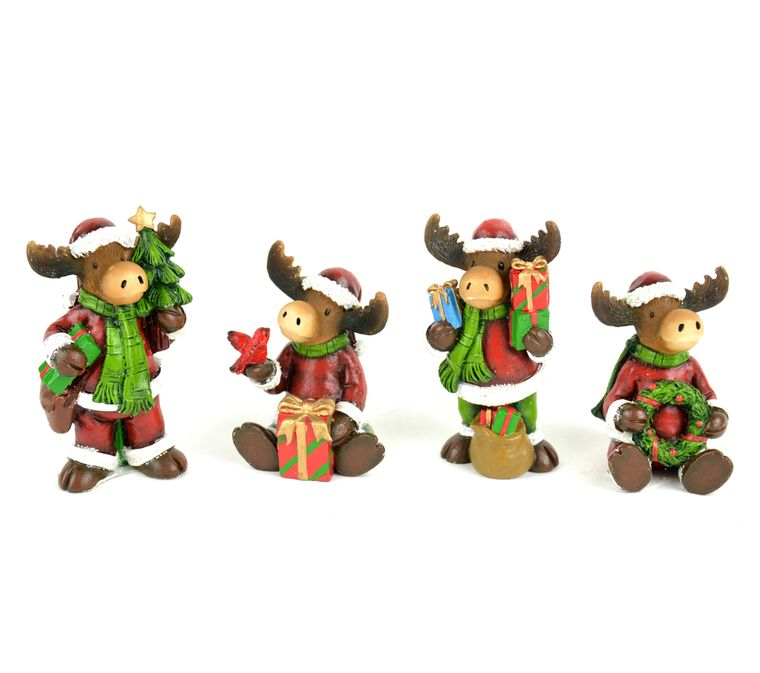 """2.75"""" Christmas Moose"""
