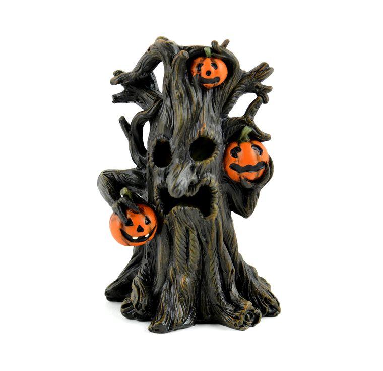 "4"" LED Spooky Tree"